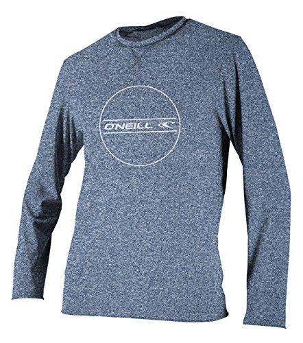 O'Neill Youth Hybrid UPF 50+ Long Sleeve Sun Shirt,Navy,4
