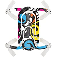Skin For ZEROTECH Dobby Pocket Drone – Swirly | MightySkins Protective, Durable, and Unique Vinyl Decal wrap cover | Easy To Apply, Remove, and Change Styles | Made in the USA