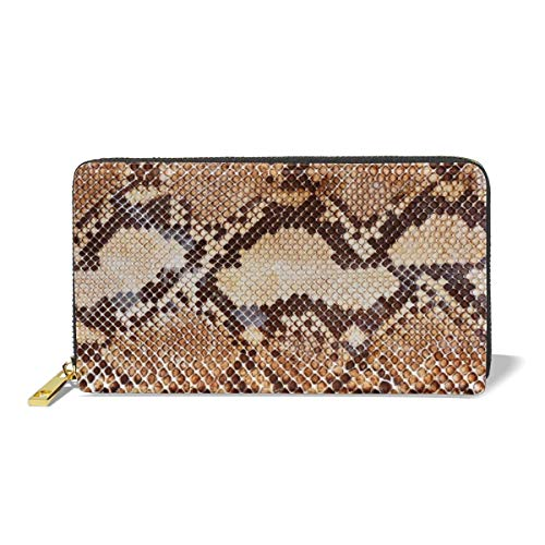 LOVER Women's New Card Holder Wristlets Wallets Snake Skin