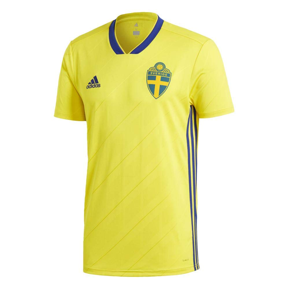 1355455d6 Amazon.com   adidas Sweden Home Jersey 2018 2019   Sports   Outdoors