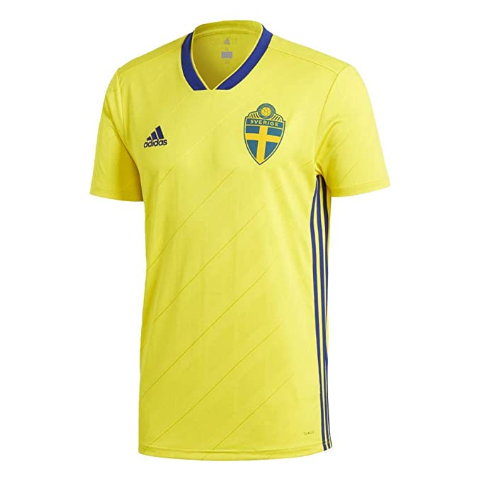 7a674b879 Amazon.com   adidas Sweden Home Jersey 2018 2019   Sports   Outdoors