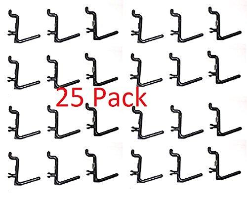 board L Hooks Storage Garage Organizer Tool (25) (Pegboard 25 Pegs)