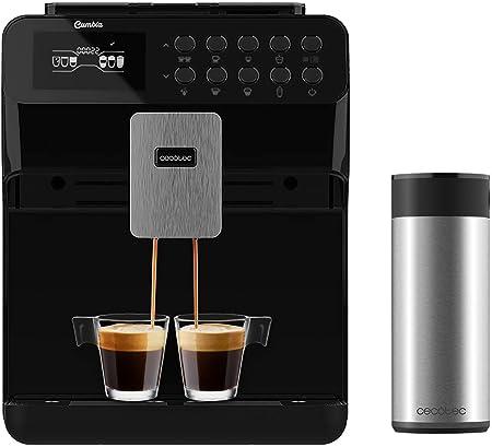 Cecotec Cafetera Superautomática Power Matic-ccino 7000. Depósito de Leche. Pantalla digital. Café totalmente Personalizable. Tecnología ForceAroma 19 bares de presión. Bandeja calientatazas.: Amazon.es: Hogar