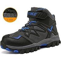 Littleplum Kids Hiking Boots Boys Waterproof Hiking Boot Hiking Shoes for Girl Sneaker