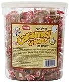 Goetze's Caramel Creams Candy Tub, 100 Count