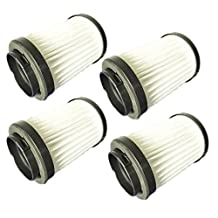 EURO-PRO EP604H Stick Vac (4 pack) Replacement Filter XHF604H # EU-18410-4pk