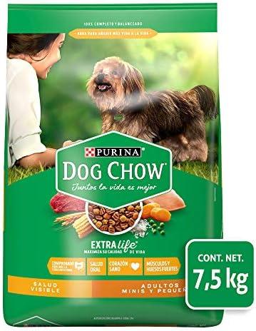 Comida para Perros Adultos, Dog Chow, Razas Minis y Pequeñas, 7.5 kg 2