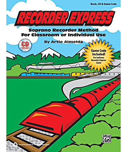 Alfred Recorder Express Book, CD & Game -