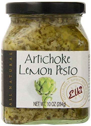 Elki's Gourmet Artichoke Lemon Pesto, 10 Ounce by Elki's (Artichoke Lemon Pesto)