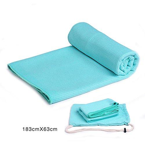 183cm * 63cm Serviette de toilette en silicone Couverture de yoga antidérapante