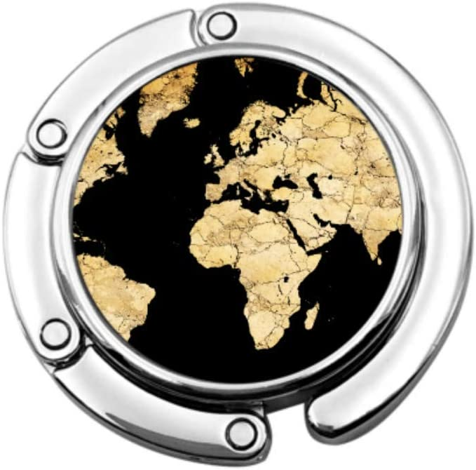 Mapa del Mundo Continentes Seco Desierto Bolsa de Suelo Colgador ...