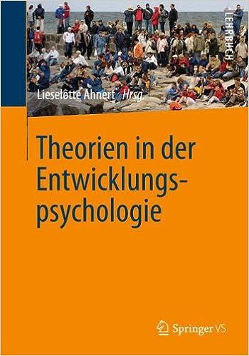 Book Theorien in der Entwicklungspsychologie