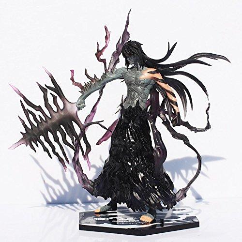 - Cool 20cm Bleach Anime Kurosaki Ichigo Getsuga Tenshou PVC Action Figure Collection Model Toy with box