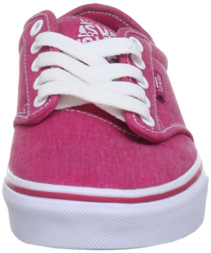Rose Berry para W Rosa White Zapatillas Atwood Vans Textile mujer 6Yq8F