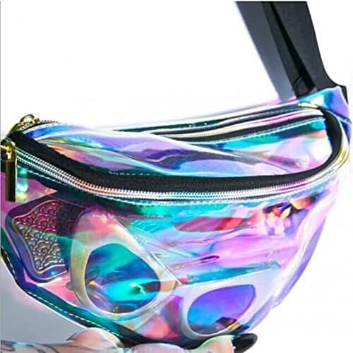 PVC Transparent Waterproof Laser Waist bag Beach Pack