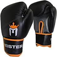 Meister Pro Boxing Gloves w/ Wrist Support (Pair)