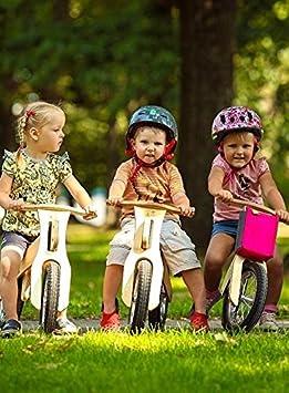 Rueda Madera Ni/ños Bicicleta sin pedales de dipdap respetuoso con el medio Dipdap mini