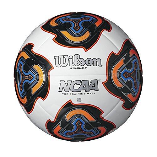 (Wilson NCAA Stivale II Soccer Ball, White)