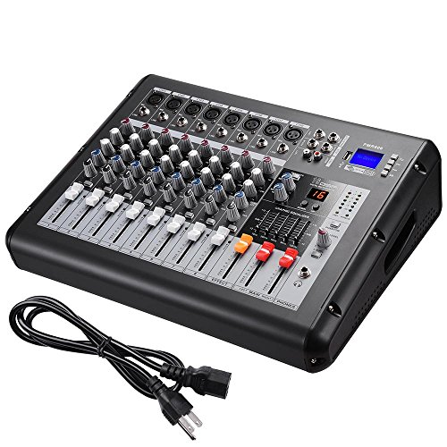 tt Pro Powered Mixer w/ USB Slot DJ Power Mixing 110V 16.5