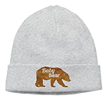 Bear Cub Baby Skull Beanies Hat Warm Winter Caps