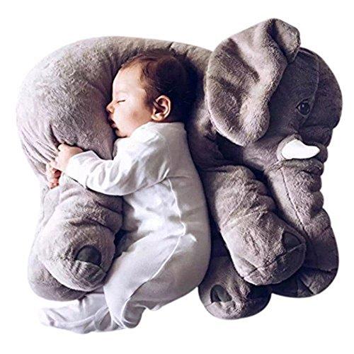 Grifil Zero Elephant Plush Toy Extra Large Size Animal Plush Doll Toy Grey 24 inch