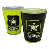 United States Army Two Tone Shot Glass