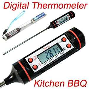 New Kitchen BBQ Digital Cooking Food Meat Probe Thermometer