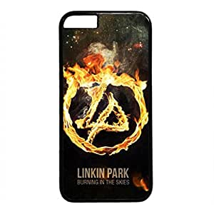 iCustomonline Linkin Park Protective Back Hard PC Black Case Cover for iPhone 6 (4.7 inch)