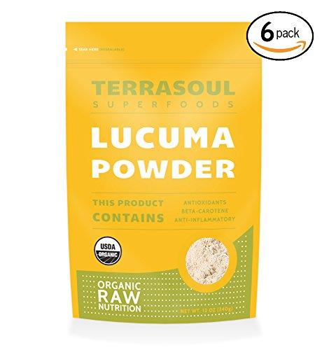 Terrasoul Superfoods Organic Lucuma Powder, 72 Ounces