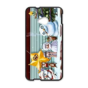 Merry Christmas fashion practical Phone Case for HTC One M7 wangjiang maoyi