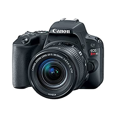 Canon EOS Rebel SL2 DSLR Camera with EF-S 18-55mm STM Lens WiFi Enabled