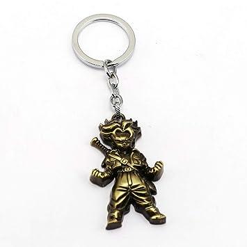 Algol - Anime Dragon Ball Keychain Son Goku Vegeta Trunks Key Ring Holder Metal Car Chaveiro Key Chain Pendant men Gift Jewelry