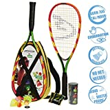 Speedminton S600 Set - Original Speed Badminton / Crossminton Starter Set including 2 rackets, 3 Speeder, Speedlights, Bag