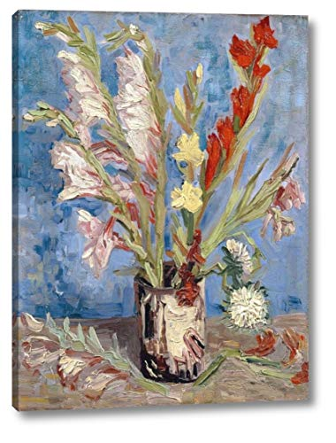 - Vase with Gladioli and China Asters by Vincent Van Gogh - 29