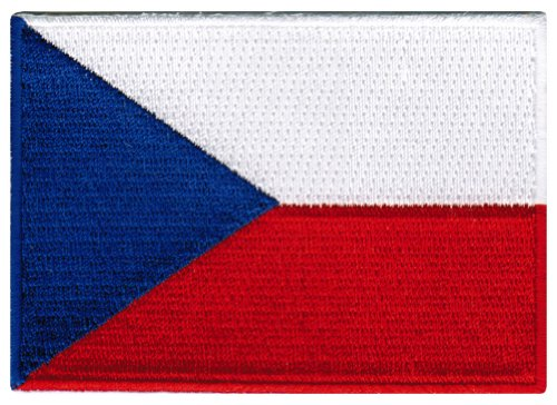 Czech Republic Ladies (Czech Republic Flag Embroidered Patch Czechoslovakia Iron-On National Emblem Ceska)