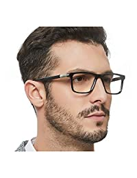 Optical Men's Eyewear Classic Non-prescription Eyeglasses