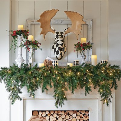 Best Christmas Garlands Wired And Pre Lit For 2020 Home