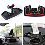 cell phone storage box - Car Dash Cell Phone Holder With ABS Storage Box 360 Degree Rotate GPS Bracket Holder Auto Mobile Holder Stand Kit For Jeep Renegade 2015-2017