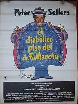 CARTEL Cine - Movie Poster : EL DIABOLICO PLAN DEL DR ...