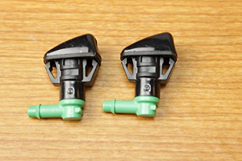 Washer Nozzle Set - Jeep Grand Cherokee Set Of 2 Windshield Washer Fluid Nozzles Mopar OEM