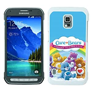 Samsung Galaxy S5 Active Case ,Fashion And Unique Designed Samsung Galaxy S5 Active Case With Care Bears White Hight Quality Cover