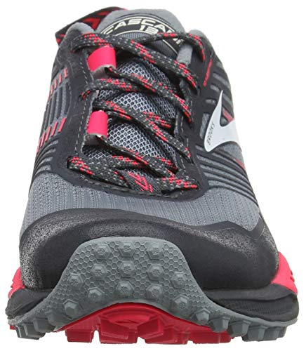 13 para Grey Zapatillas Brooks Pink Multicolor de 091 Grey Mujer Cross Cascadia X58qa