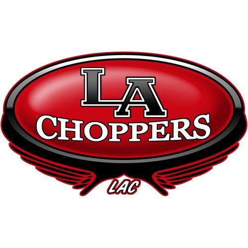 LA Choppers Angled Riser Bushing Kit - 10 Deg. - Chrome LA-7400-10