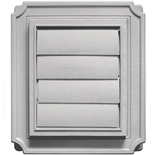 - Builders Edge 140137079016 Vent, Gray