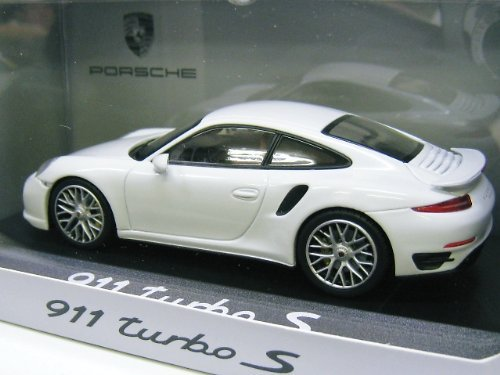 Amazon.com: Mini Chan ugly Porsche custom 1/43 Porsche 911 (991) Turbo S 2013 (White): Toys & Games