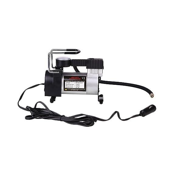Amazon.com: Sedeta 12V Electric Car Tire Inflatable Air Pump Compressor Auto Cigarette Lighter Plug: Automotive