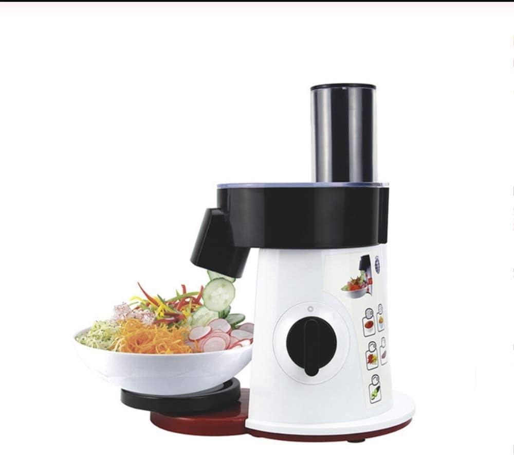 CFW Robot de Cocina, Cortador Redondo, máquina de Cortar eléctrica Rallador, Zanahoria Patata Trituradora, máquina de Cortar Chopper Vegetales para la Cocina, de Cortar Verduras en la Cocina: Amazon.es