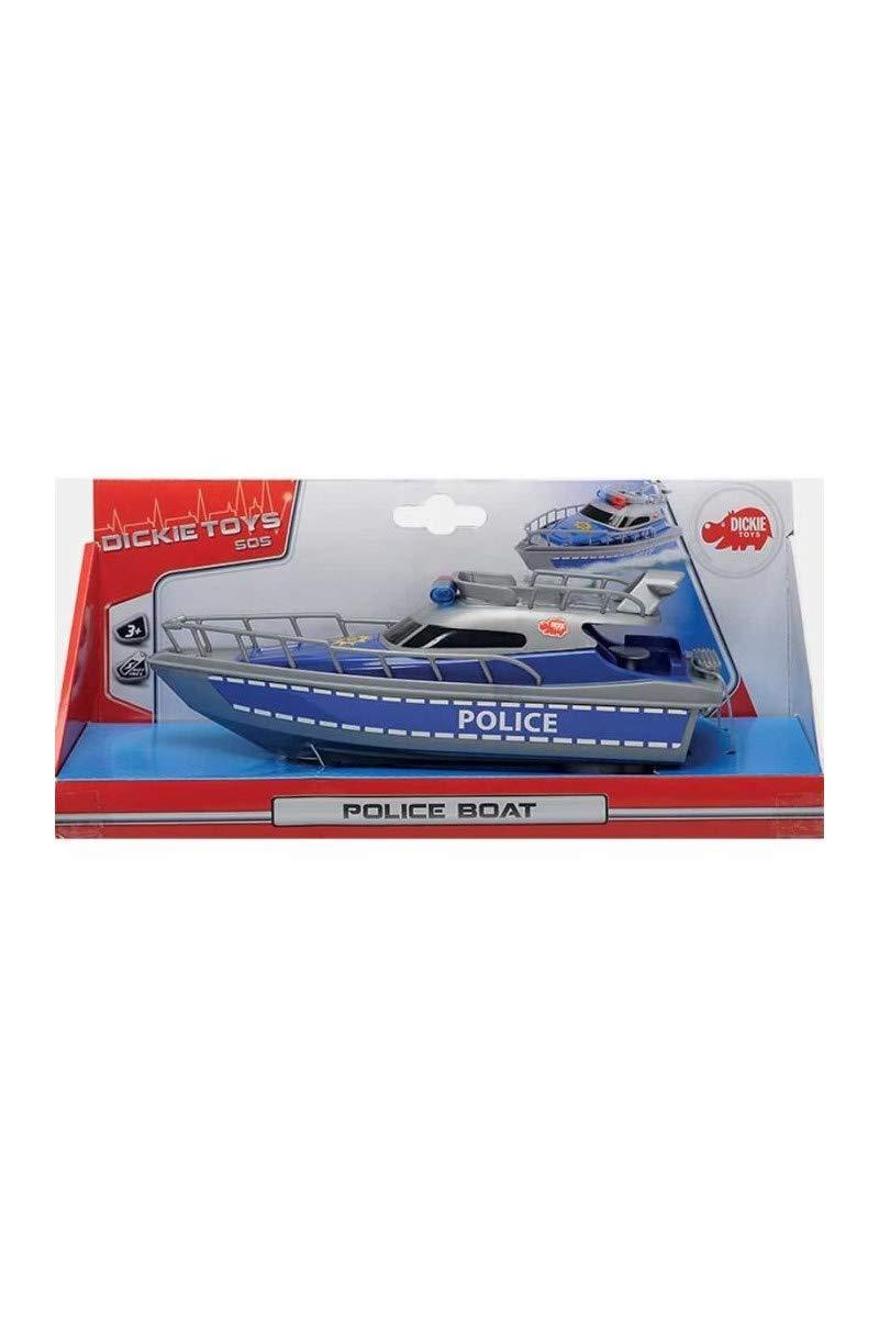 Smoby S.A 203714000000 Dickie SOS Polizeiboot