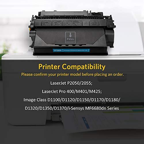 3 packs CE255X Toner Cartridge fits HP Enterprise P3015dn P3015n Printer