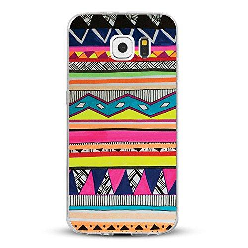 Vanki® Samsung Galaxy S7 Funda Silicona TPU Transparente Soft Clear Suave Flexible Anti Rasguños Anti Choque Ultra Delgado Case Cover para Samsung Galaxy S7 2016 Diseño Creativo 7